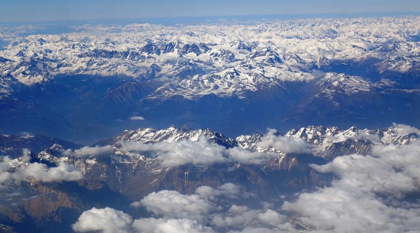 Les glaciers des Alpes risquent de fondre à plus de 90% d'ici la fin du siècle