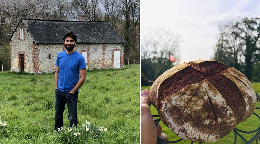Ex-trader, Thomas a quitté la finance pour lancer une micro-boulangerie bio en Normandie