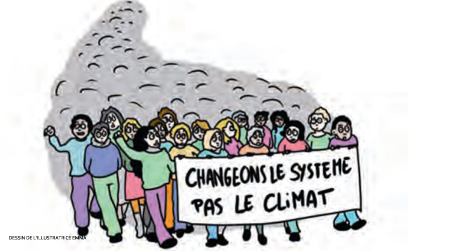 Emma : la dessinatrice dépeint la crise climatique