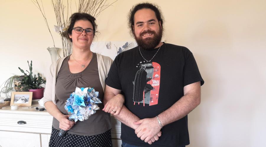 Un couple se marie en ne produisant que 2 kg de déchets pour 60 invités