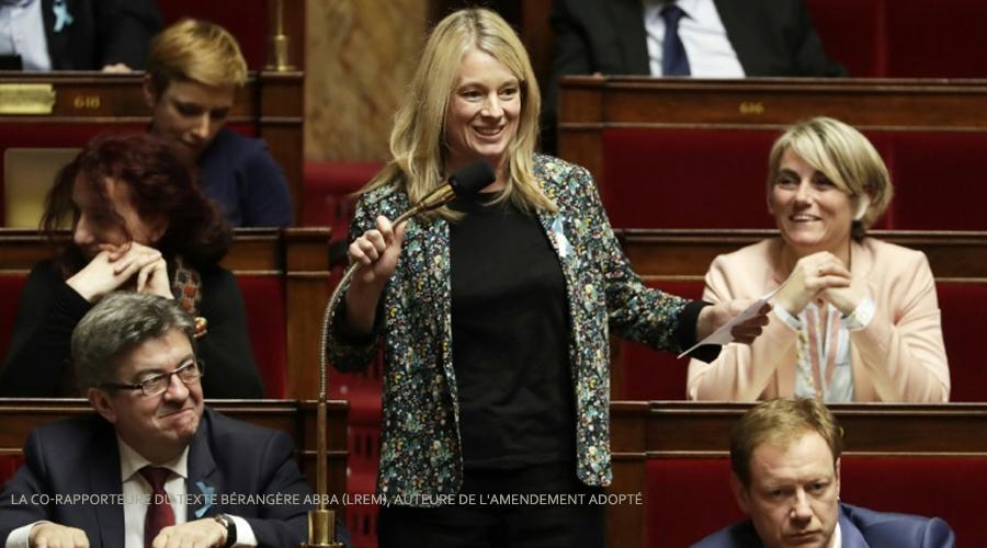 Bérangère Abba (LREM), auteure de l'amendement adopté