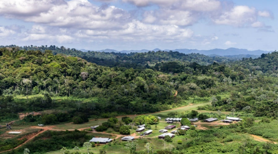 Projet Montagne d'Or en Guyane