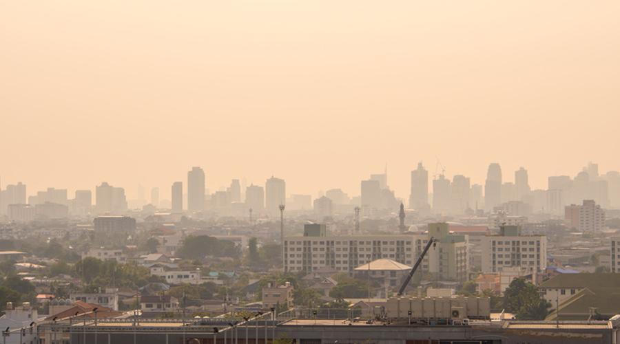 La pollution de l'air augmenterait les risques d'hypertension