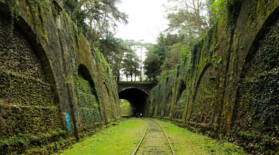 chemin de fer petite ceinture à Paris