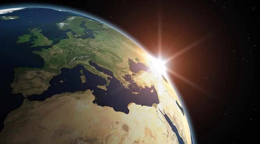 Terre globe