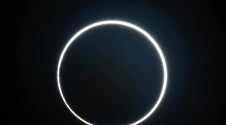 L'éclipse solaire du