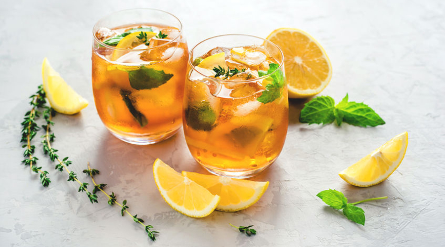 thé glacé