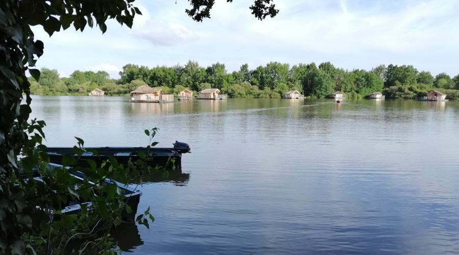 Village flottant de Pressac
