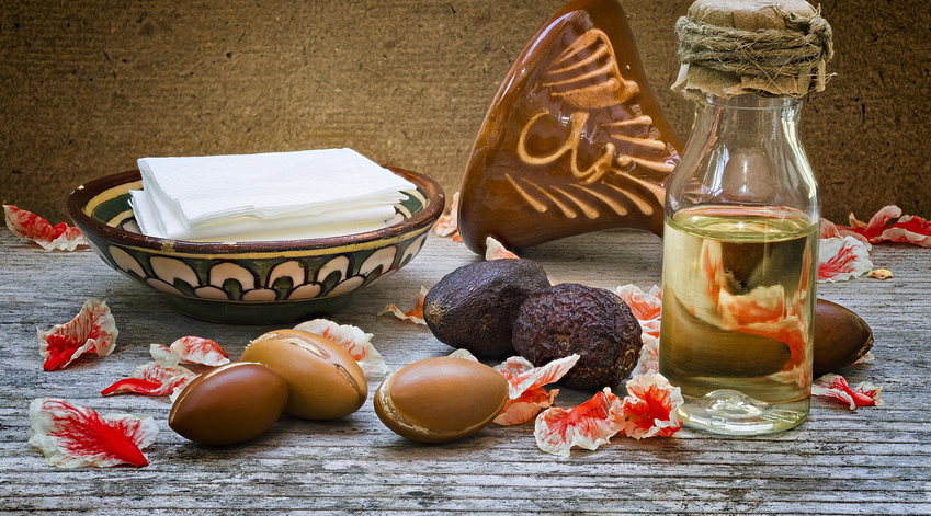 noix et huile d'argan