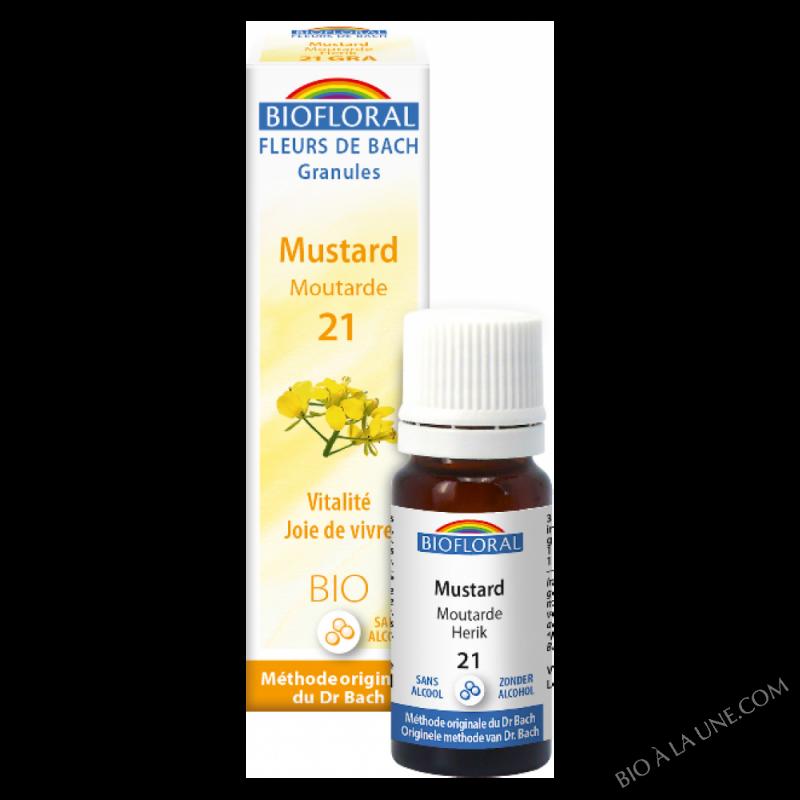 Fleurs de Bach Granule 21 - Mustard, moutarde BIO