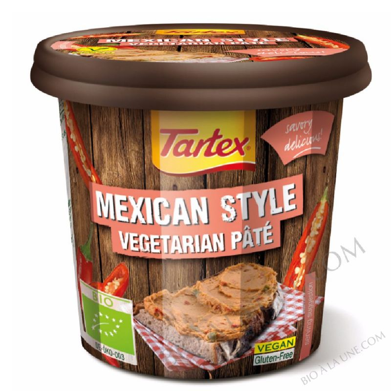 PATE VEGETAL MEXICAN - 125g