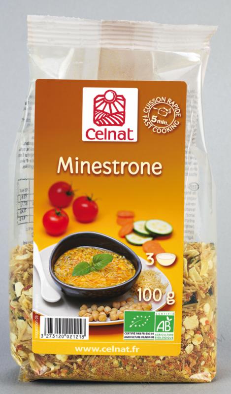 CELNAT Minestrone BIO - 100g