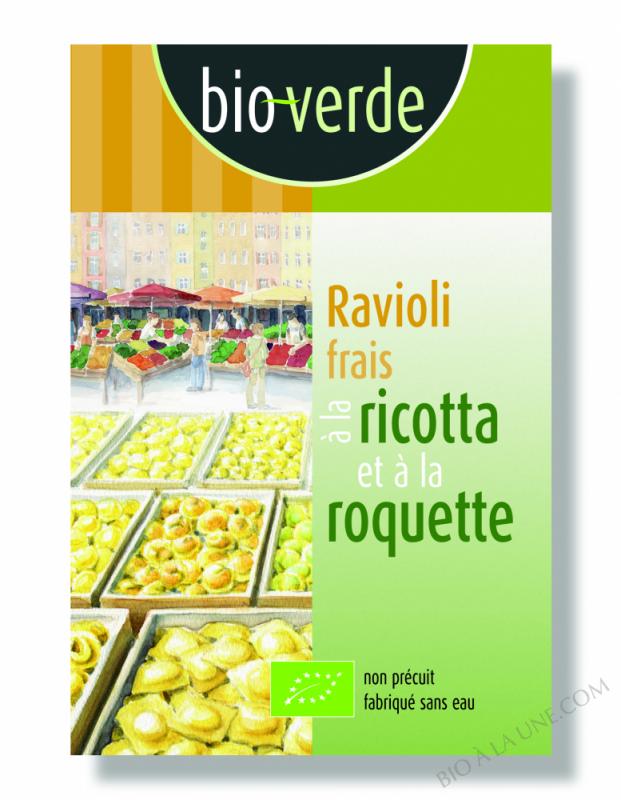 RAVIOLI ROQUETTE - 250GR