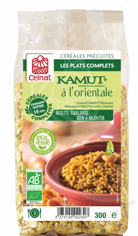 CELNAT Boulgour de Blé khorasan KAMUT® à l\'Orientale BIO - 300g