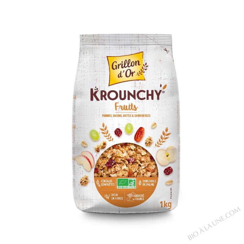 Krounchy fruits