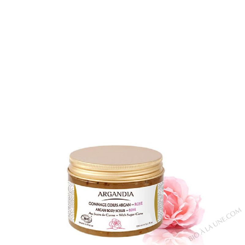 Gommage Corps Argan Rose - 150 ml