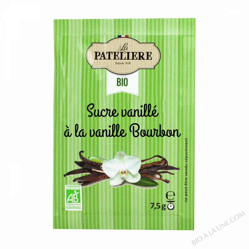 Sucre Vanillé Naturel À La Vanille Bourbon 100% Naturel -  10 X7,5 G