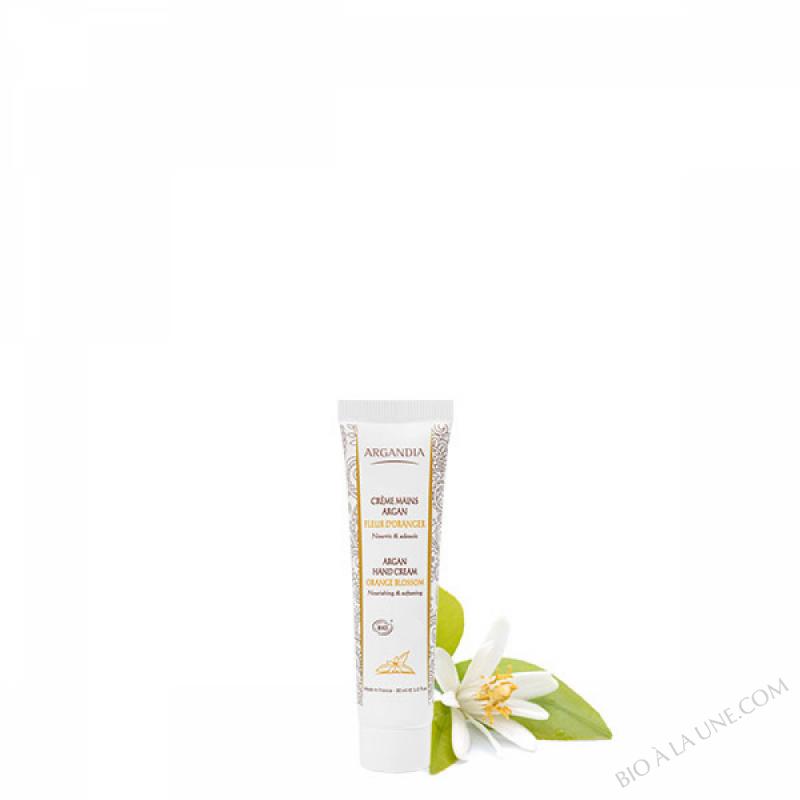 Crème Mains Argan Fleur d'Oranger - 30 ml