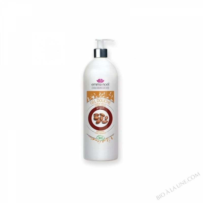 Gel douche à l'huile d'Argan bio - 1L