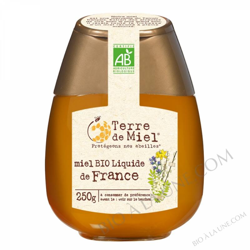 Miel toutes fleurs liquide bio France 500g