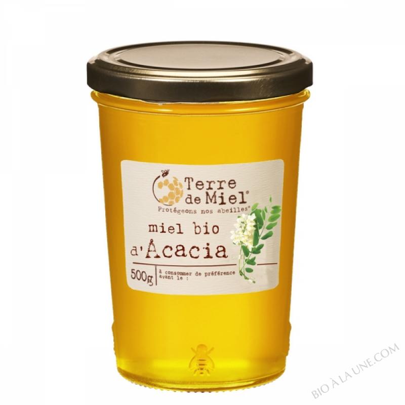 Miel d'acacia bio France 500g