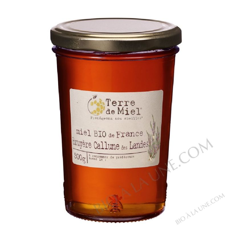 Miel de bruyere de Callune des Landes 500g
