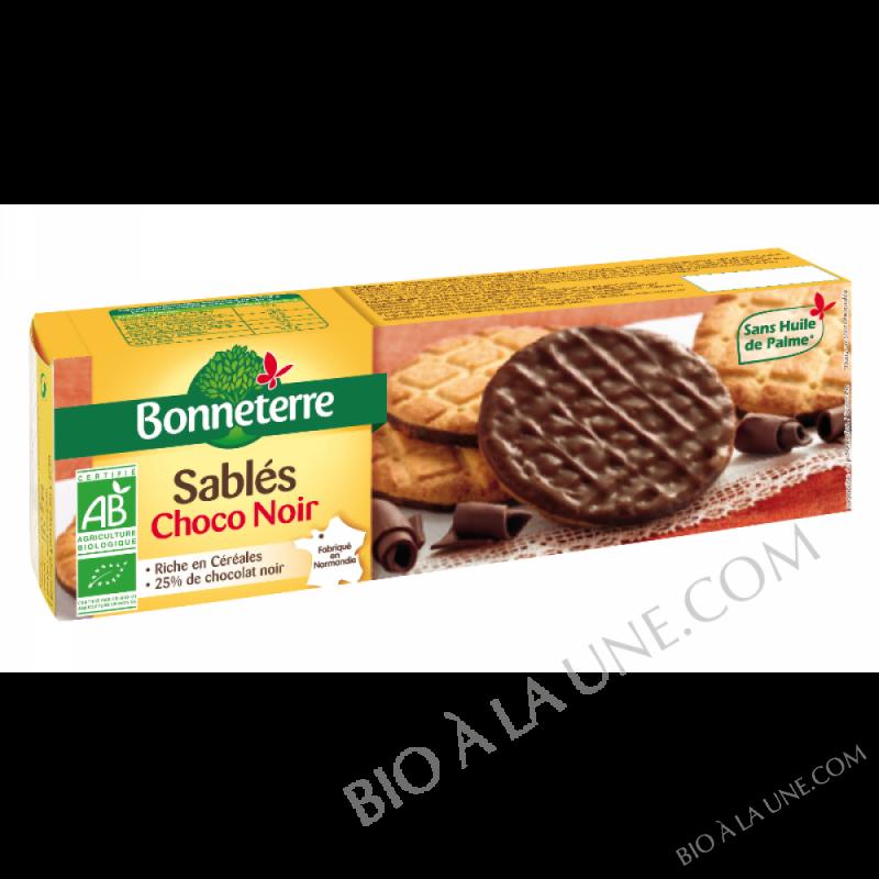 SABLÉS AU CHOCOLAT NOIR BIO -120G