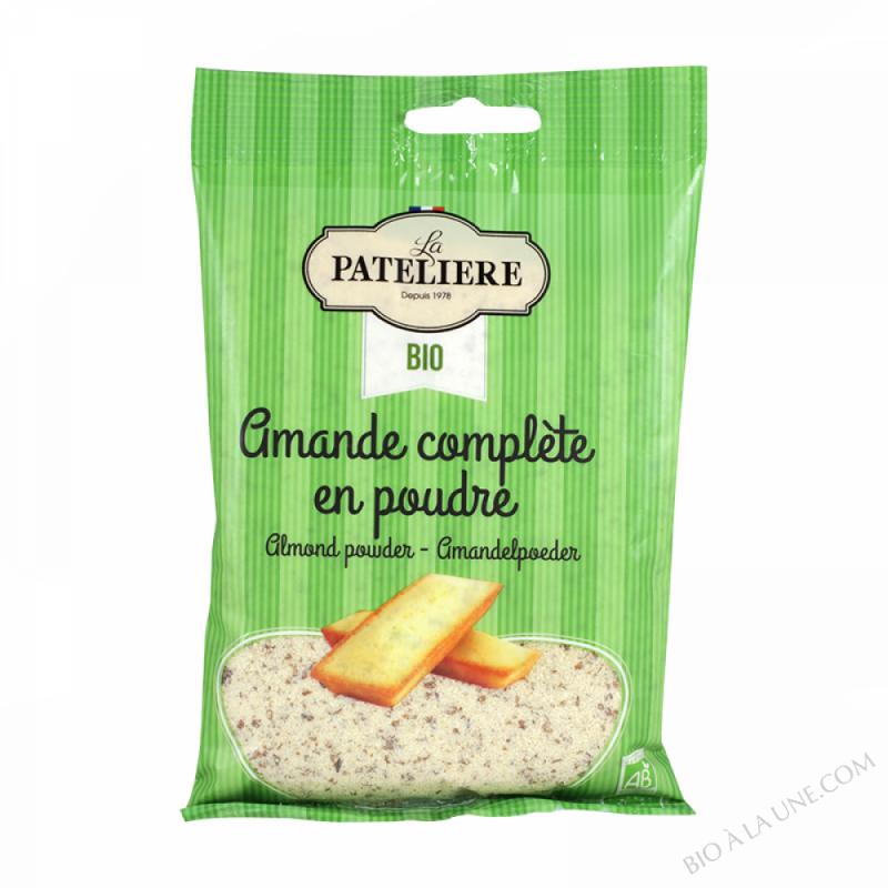 Amandes Complètes En Poudre - La Pateliere - 125G