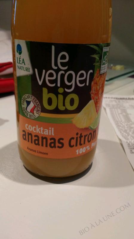 Jus cocktail ananas citron vert - 75CL