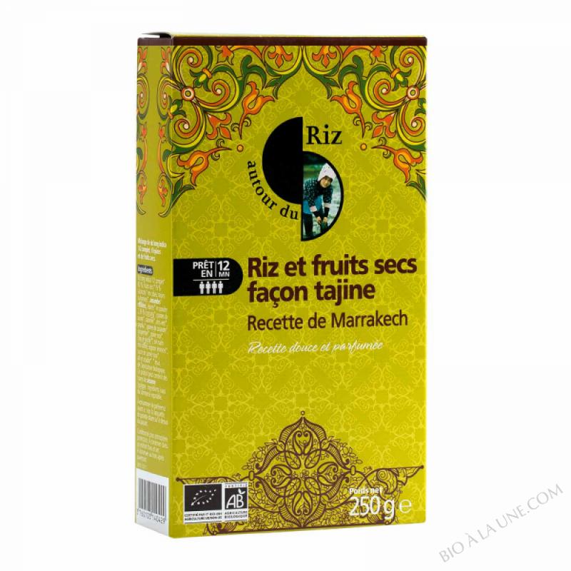 Riz Et Fruits Secs Façon Tajine Marrakech - 250G