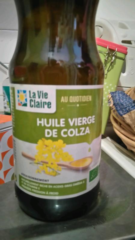 HUILE VIERGE DE COLZA - 50CL