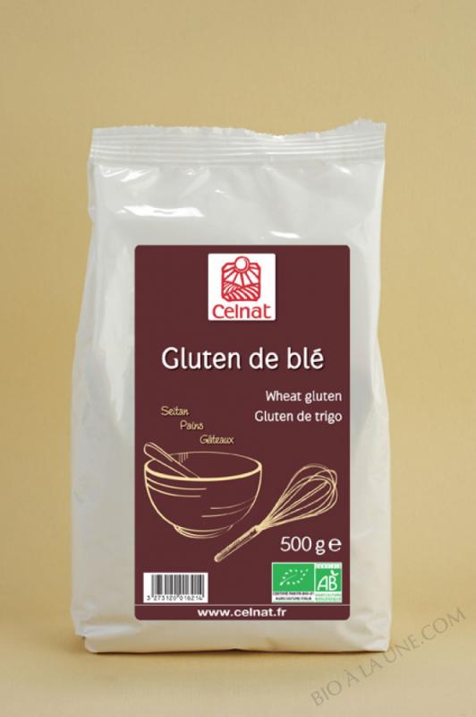 CELNAT Gluten de Blé BIO - 500g