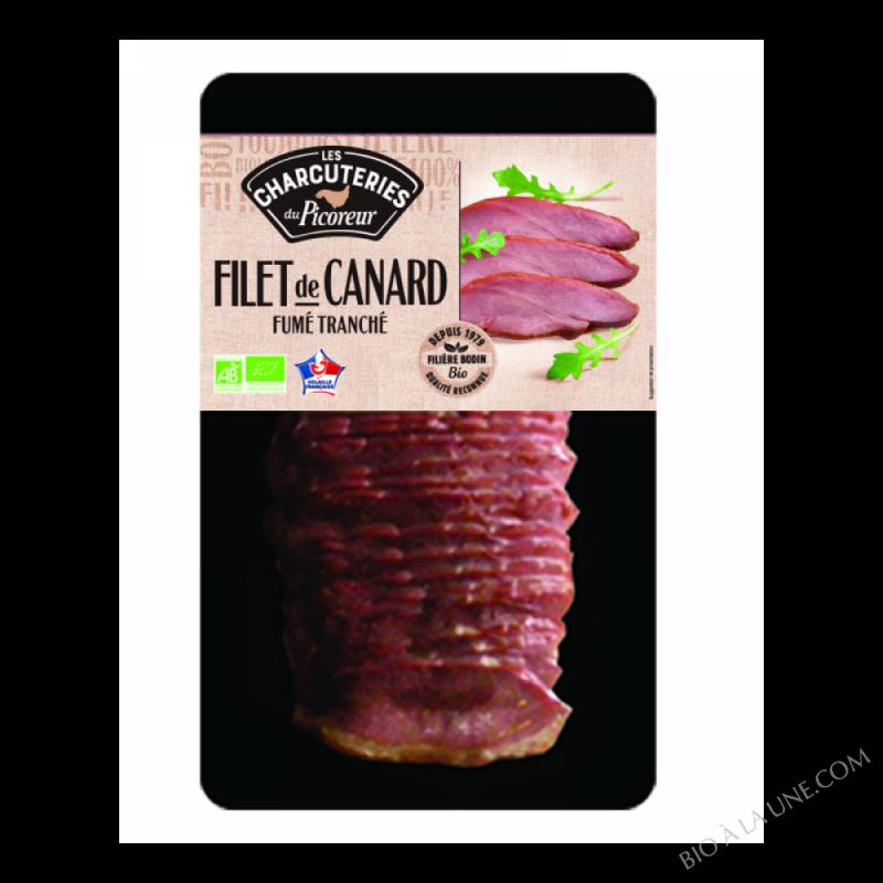 FILET DE CANARD FUME TRANCHE