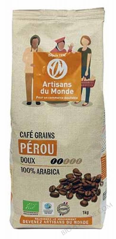 CAFÉ PÉROU GRAINS - 1 KG
