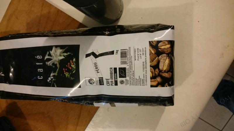 CAFÉ PUR ARABICA - 1 KG