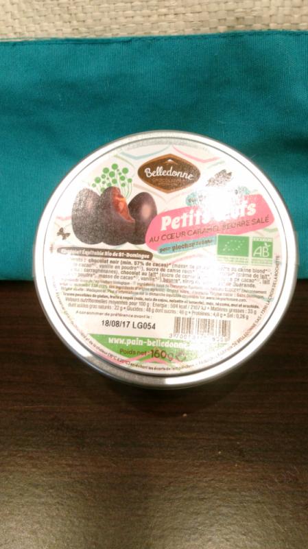 Petits Oeufs au coeur caramel beurre salé - 160G