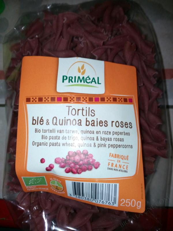 tortils blé & quinoa baies roses - 250g