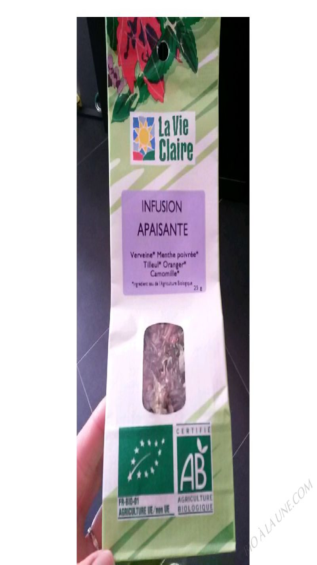 infusion apaisante - 25G