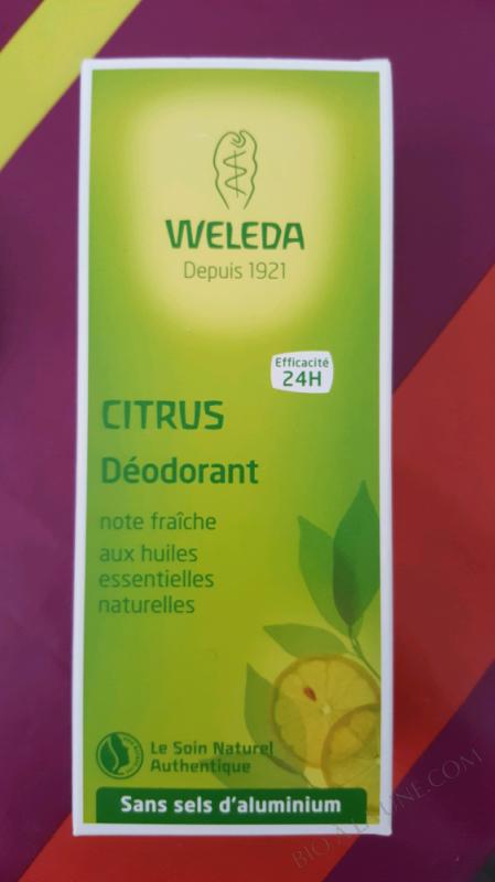 Déodorant spray Citrus - 100ml