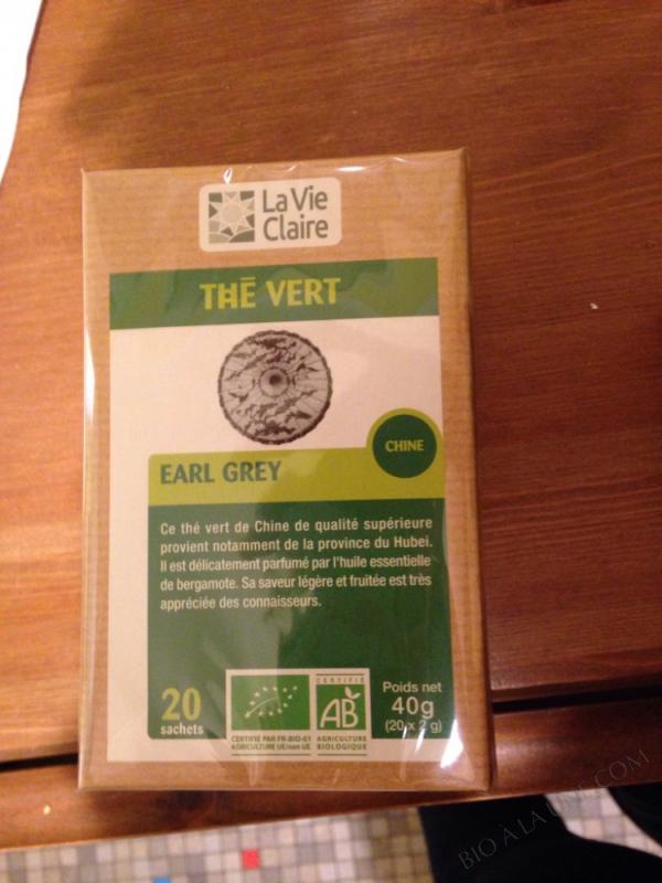 Thé vert - La vie claire - 40 g