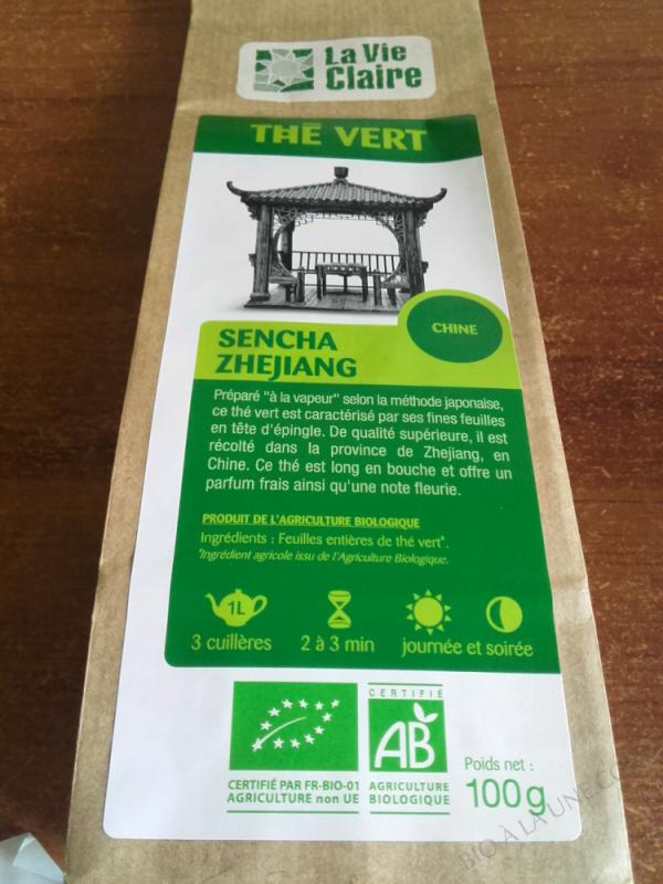 Sencha green tea, La Vie Claire - 100g
