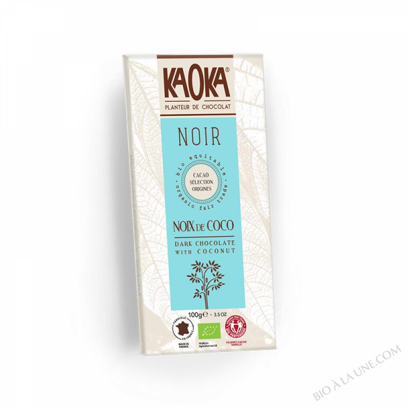 Chocolat Noir Noix de Coco – 100g