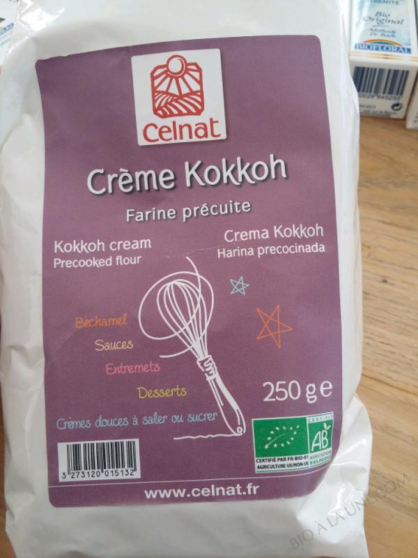 Crème Kokkoh Farine Précuite – 250g
