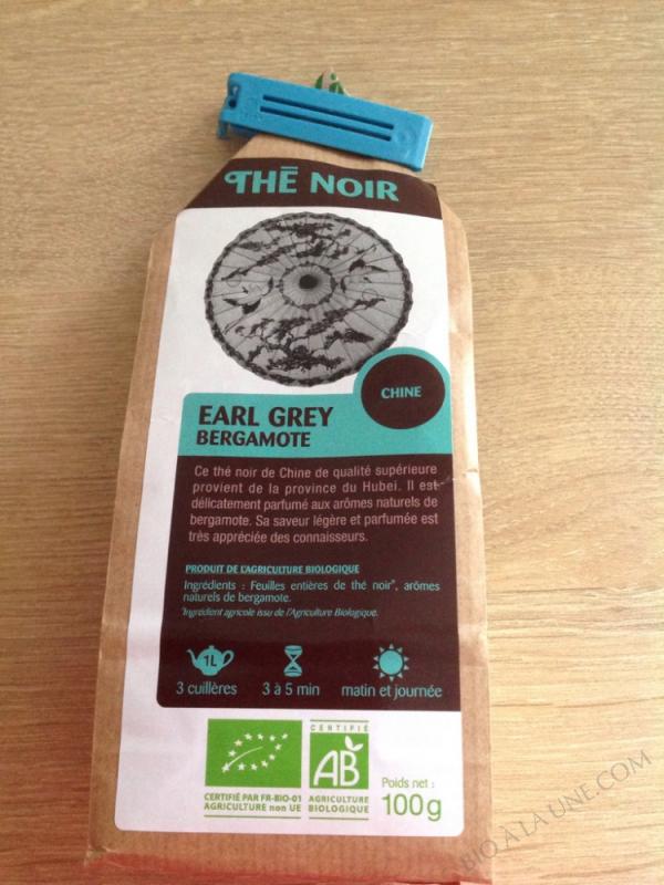 Thé Noir Earl Grey Bergamote - 100g