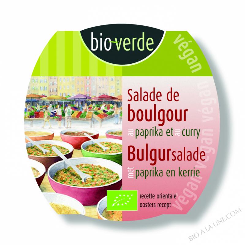SALADE DE BOULGOUR PAPRIKA CURRY - 125g