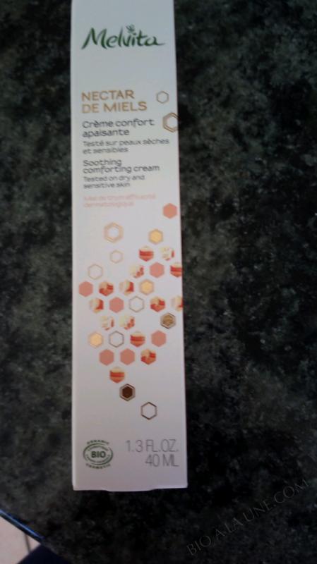 Melvita Nectar de Miels Crème Confort Apaisante 40 ml