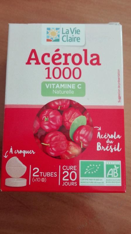 ACELORA VITAMINE C 1000 - 2 TUBES DE 10 CACHETS A CROQUER