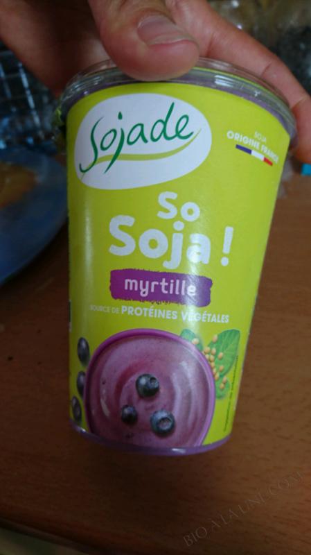 SOJADE MYRTILLE - 400G