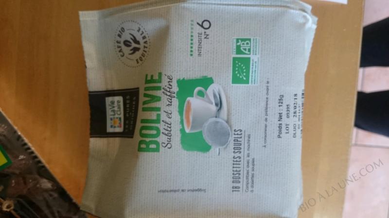 CAFÉ DOSETTES BOLIVIE – 125G
