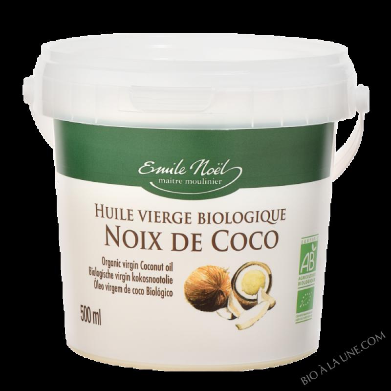 HUILE VIERGE BIOLOGIQUE NOIX DE COCO ? 500ml